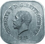 1 Penny - George V (Kookaburra Pattern - Type 12a (Renniks 11a)) -  obverse