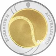2 Dollars  - Elizabeth II (Australian Open) -  obverse