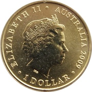 1 Dollar - Elizabeth II (200 Years of Postal Services in Australia) -  obverse