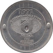 Commemorative Medal - The Advertiser (Adelaide Crows) – obverse