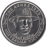 Commemorative Medal - The Advertiser (The Ashes) – obverse