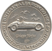 Commemorative Medal - The Advertiser (1st World Championship GP) – obverse