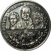 Australia 200 Years Medal Collection (Blaxland, Wentworth and Lawson) -  obverse