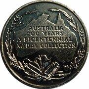 Australia 200 Years Medal Collection (The Eureka Stockade) -  reverse
