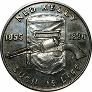 Australia 200 Years Medal Collection (Ned Kelly) -  obverse