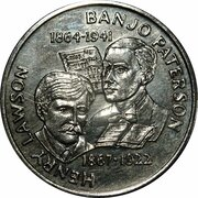 Australia 200 Years Medal Collection (Henry Lawson & Banjo Paterson) -  obverse