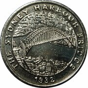 Australia 200 Years Medal Collection (The Sydney Harbour Bridge) -  obverse