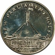 Australia 200 Years Medal Collection (New Parliament House) -  obverse