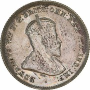 6 Pence - Edward VII – obverse