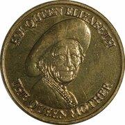 Token - Queen Mother Commemorative Medal (Sunday Telegraph) – obverse