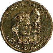 Token - Queen Mother Commemorative Medal (Sunday Telegraph) – reverse