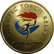 Token - Sydney 2000 Olympics Torch Relay (100 Day Celebration) – obverse