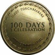 Token - Sydney 2000 Olympics Torch Relay (100 Day Celebration) – reverse