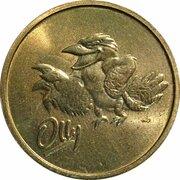 Token - Sydney 2000 Olympics Games Mascot - (ANDA Olly Kookaburra) – obverse