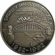 Token - 60th Anniversary Sydney Harbour Bridge – obverse