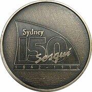 Token - 60th Anniversary Sydney Harbour Bridge – reverse