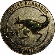 Token - Boxing Kangaroo (Tennis) – reverse