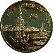 Token - Governor Arthur Phillip & First Fleet -  reverse