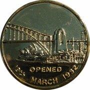 Token - Sydney Harbour Bridge 60 Years – reverse