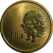 Medal - Sydney 2000 Olympics Games Mascot - (ANDA Millie Echidna) -  obverse