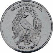 Token - Herald Sun AFL Centenary (Collingwood Magpies) – obverse