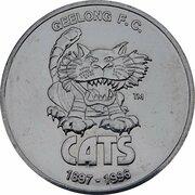 Token - Herald Sun AFL Centenary (Geelong Cats) – obverse
