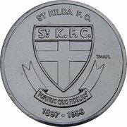 Token - Herald Sun AFL Centenary (St Kilda Saints) – obverse