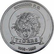 Token - Herald Sun AFL Centenary (Richmond Tigers) – obverse
