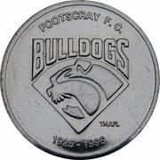 Token - Herald Sun AFL Centenary (Footscray Bulldogs) – obverse