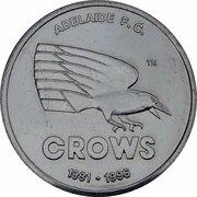 Token - Herald Sun AFL Centenary (Adelaide Crows) – obverse