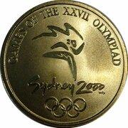 Medal - Sydney Olympics (Millie - Taekwondo) -  obverse