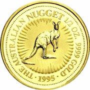 50 Dollars - Elizabeth II (3rd Portrait - Kangaroo - Gold Bullion Coin) – reverse