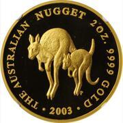 200 Dollars - Elizabeth II (4th Portrait - Australian Nugget - Gold Bullion Coin) – reverse