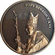 Medal - World Youth Day (Pope Benedict - Holding Crosier) – obverse