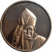Medal - World Youth Day (Pope Benedict - Blessing the Faithful) – obverse