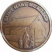 Medal - Saint Mary MacKillop (The Schoolhouse) – obverse