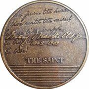 Medal - Saint Mary MacKillop (The Saint) – reverse