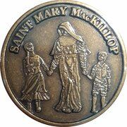 Medal - Saint Mary MacKillop (The Educator) – obverse