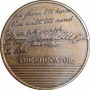 Medal - Saint Mary MacKillop (The Educator) – reverse