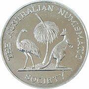 Medal - Australian Numismatic Society (Rockhampton Capricana Festival) – obverse