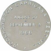 Medal - Australian Numismatic Society (Rockhampton Capricana Festival) – reverse
