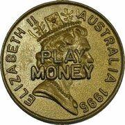 Token - 1 Dollar Mob of Roos (Play Money) – obverse