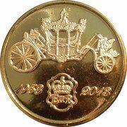 Medal - Elizabeth II (Diamond Jubilee Coronation; State Coach) – obverse