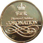 Medal - Elizabeth II (Diamond Jubilee Coronation; State Coach) – reverse