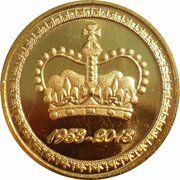 Medal - Elizabeth II (Diamond Jubilee Coronation; Crown) – obverse