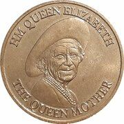 Medal - Queen Mother Commemorative (Sunday Times) – obverse