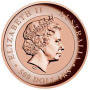 500 Dollars - Elizabeth II (Kimberley Sunset) -  obverse