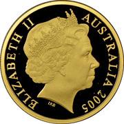 150 Dollars - Elizabeth II (4th Portrait - Malleefowl - Gold Bullion Coin) -  obverse