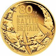200 Dollars - Elizabeth II (6th Portrait - 80th Anniversary of the Battle of Britain) – reverse