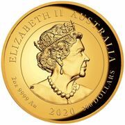 200 Dollars - Elizabeth II (6th Portrait - Double Pixiu) – obverse